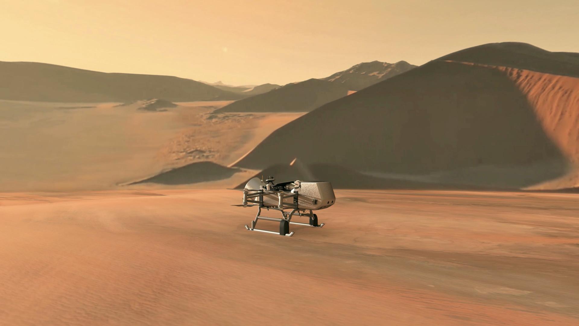 Dragonfly: el helicóptero que viajará a Saturno buscando vida en Titán