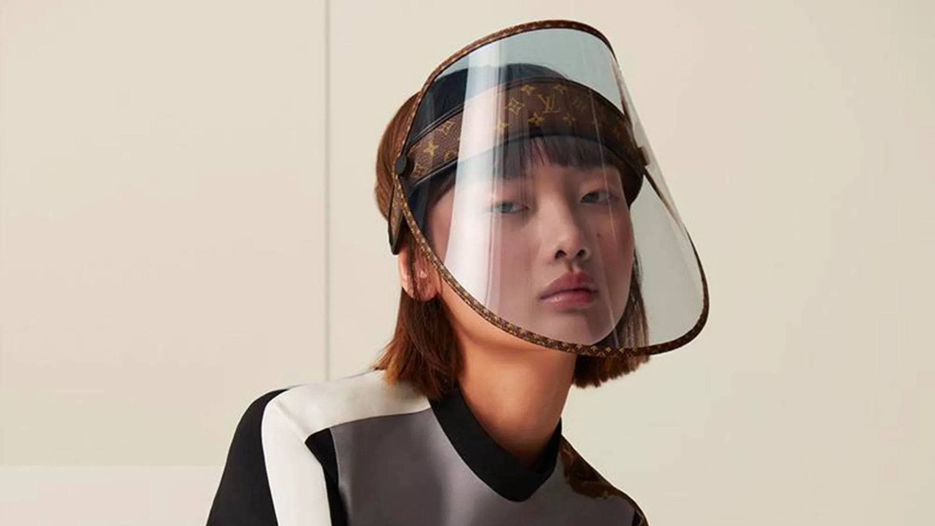 La original máscara facil de Louis Vuitton contra el coronavirus: ¿su precio?