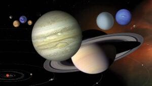 Saturno, Júpiter, Neptuno y Urano: planetas en oposición en 2021