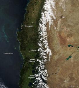 Menos nieve en la Cordillera de los Andes por el cambio climático