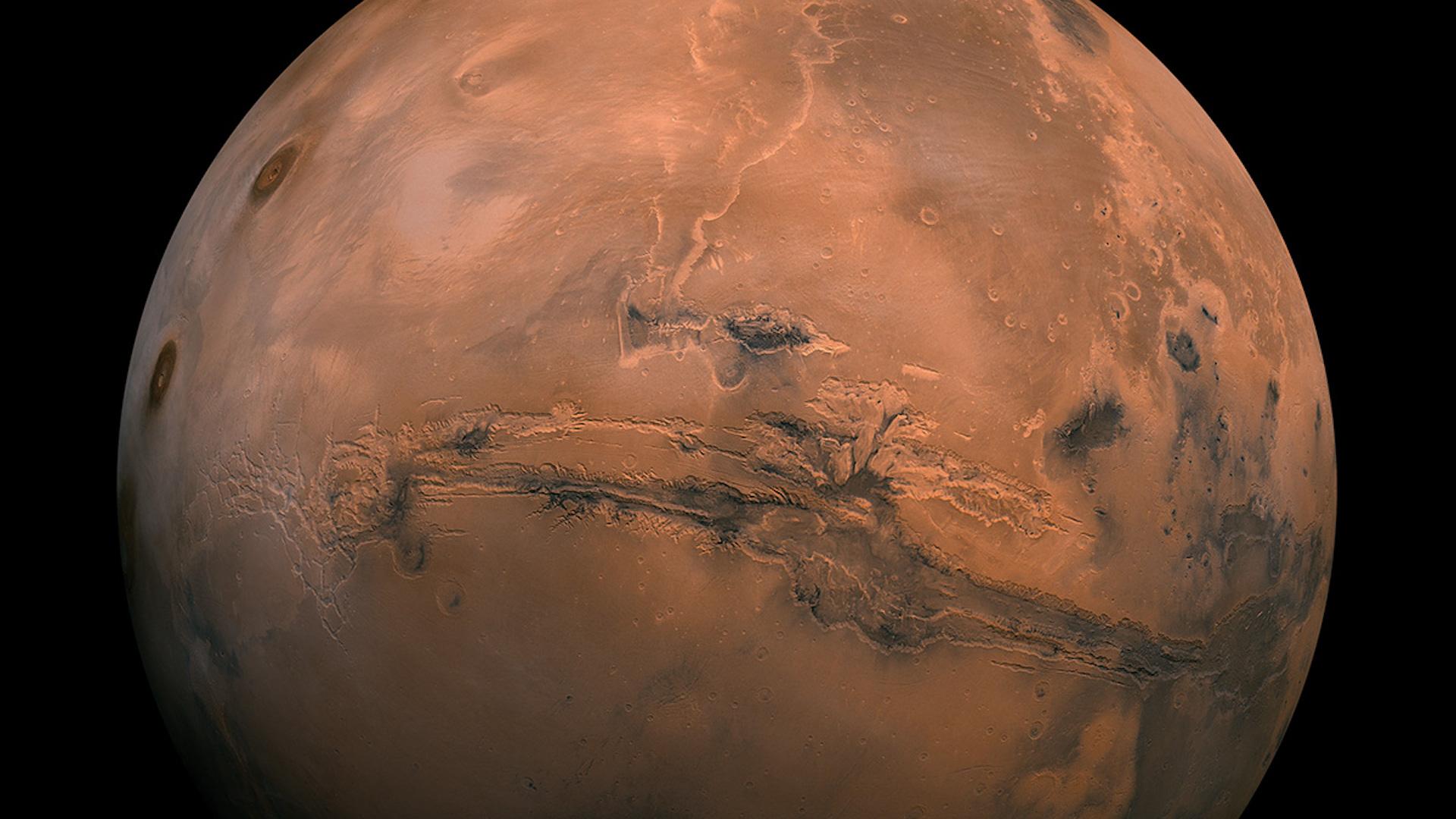 El 13 de octubre llega Marte en oposición y estará más cerca de la Tierra
