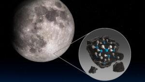 La NASA descubrió agua en la Luna