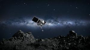 La nave OSIRIS-REx de la NASA recolectó polvo de un asteroide