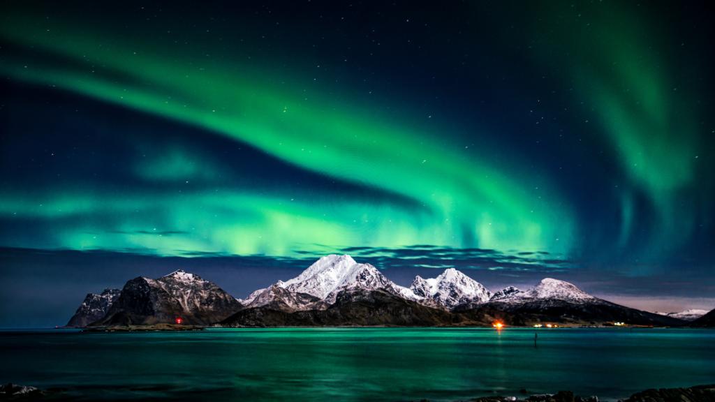 Los mejores lugares para ver las auroras boreales en Canadá
