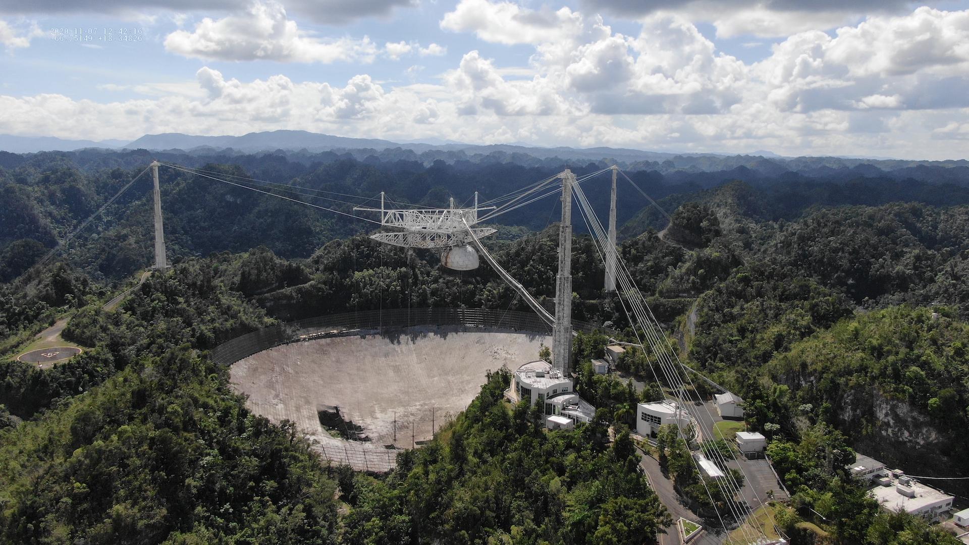 Cierra el Observatorio de Arecibo en Puerto Rico: un ícono del espacio