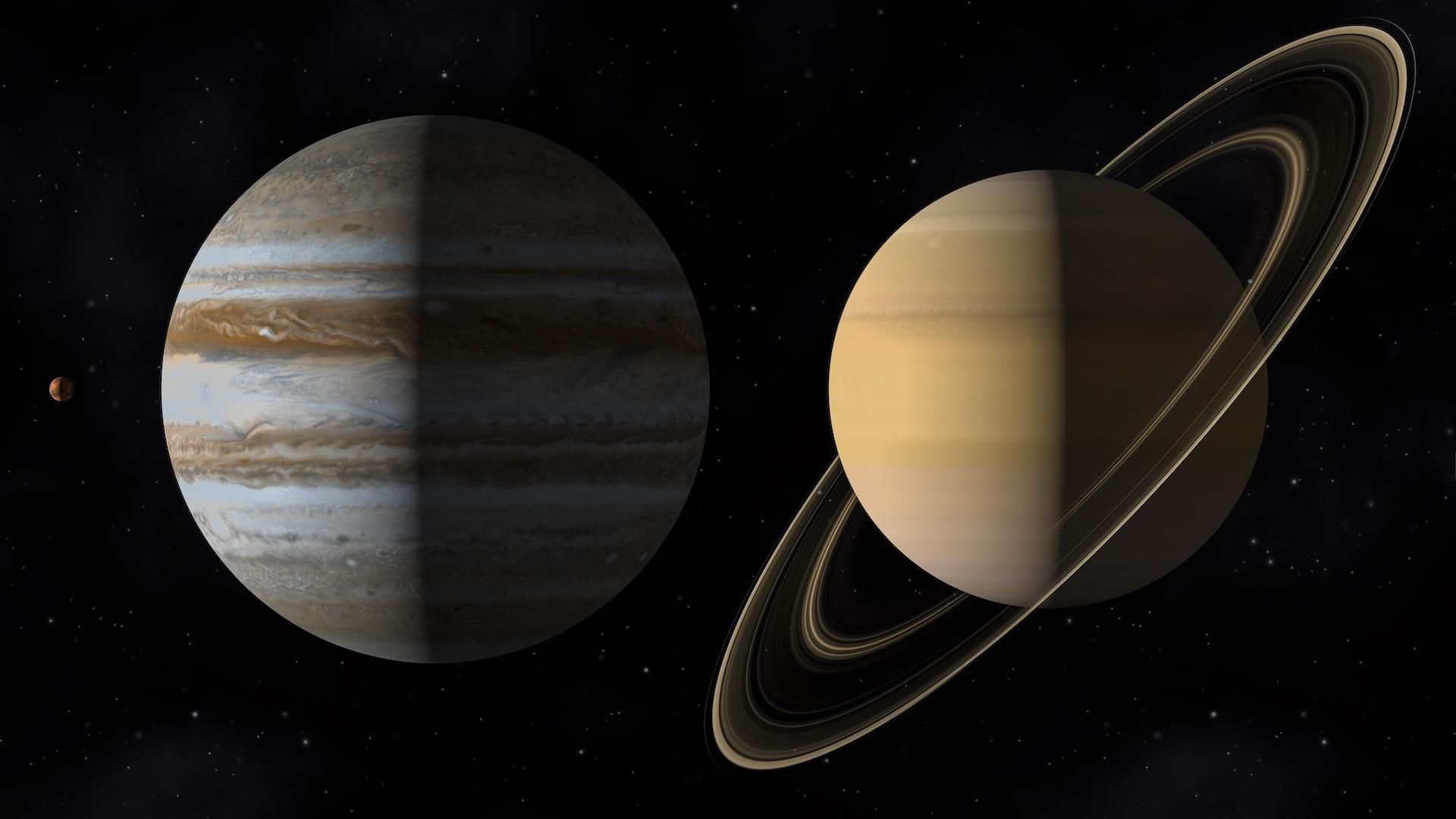 La conjunción de Júpiter y Saturno 2020 en vivo por streaming