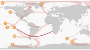 El mapa que muestra los próximos eclipses de Sol: desde 2021 a 2027