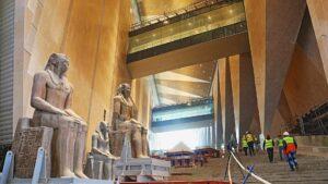 El museo de Giza en Egipto, inaugura en octubre de 2021