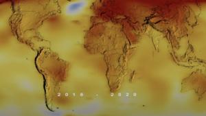 2020 fue el año más caluroso de la historia y empató con 2016