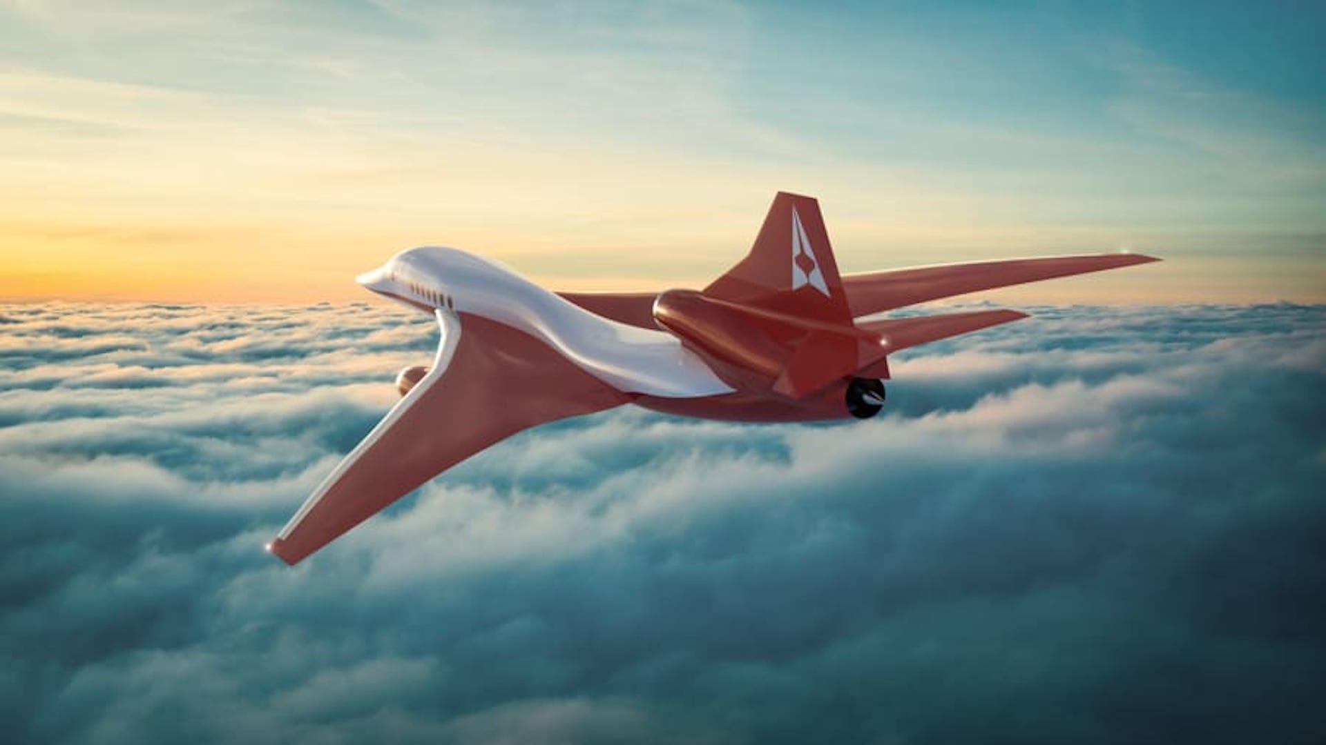 Este será el avión supersónico Aerion AS2: la nueva era del Concorde