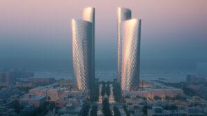 Lusail Towers: los increíbles y nuevos rascacielos revestidos en aluminio