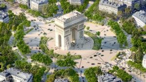 Así quedará el renovado Champs-Élysées de París en 2024
