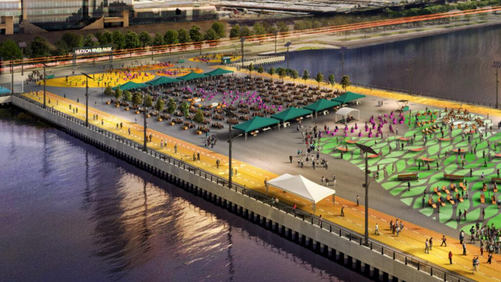 Así quedará el nuevo parque público de Nueva York: Pier 76