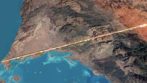 The Line: la ciudad del futuro que se construirá en Arabia Saudita