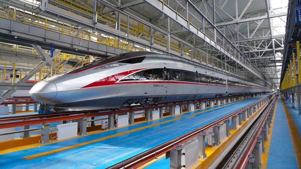 China estrenó un nuevo tren bala para bajas temperaturas