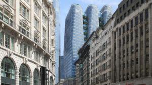 Construirán en Londres tres rascacielos interconectados: imágenes