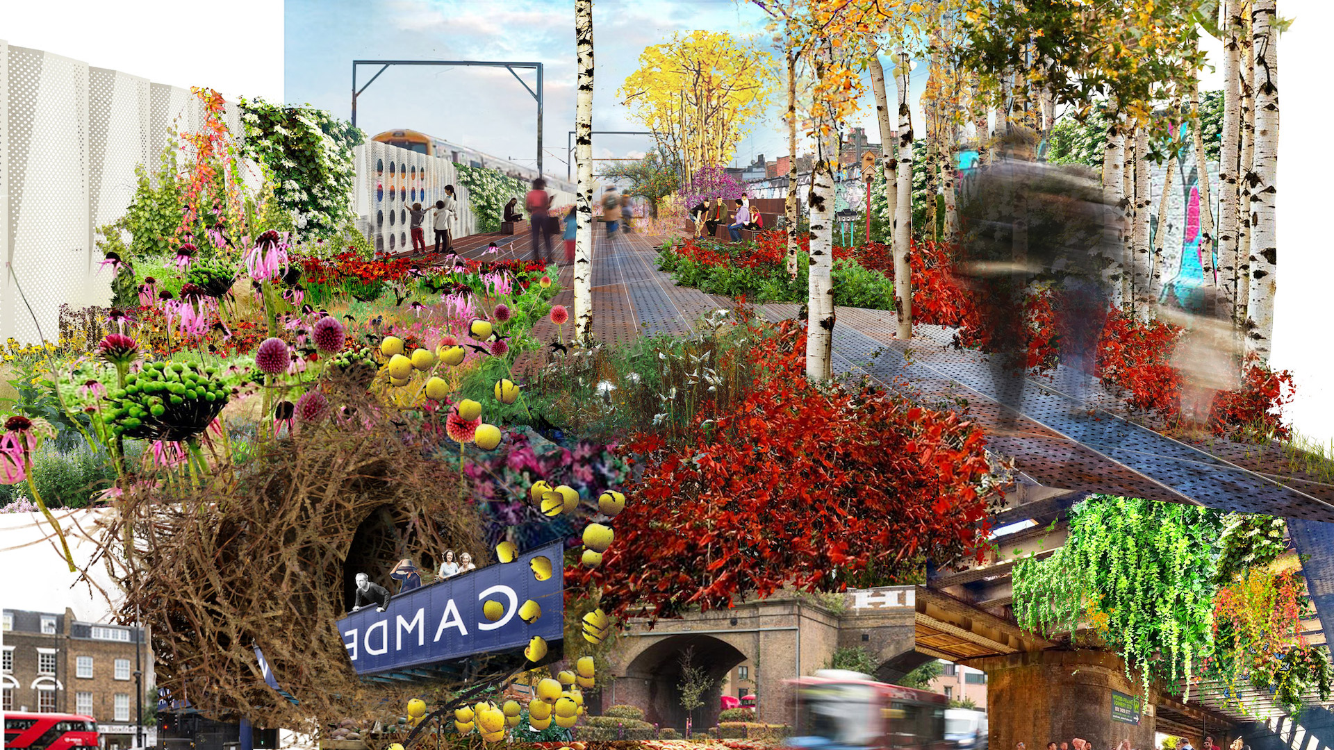De los creadores del High Line de New York llega el Camden Highline Londres