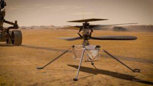 ¿Cuándo vuela el helicóptero que llevó la sonda Perseverance a Marte?