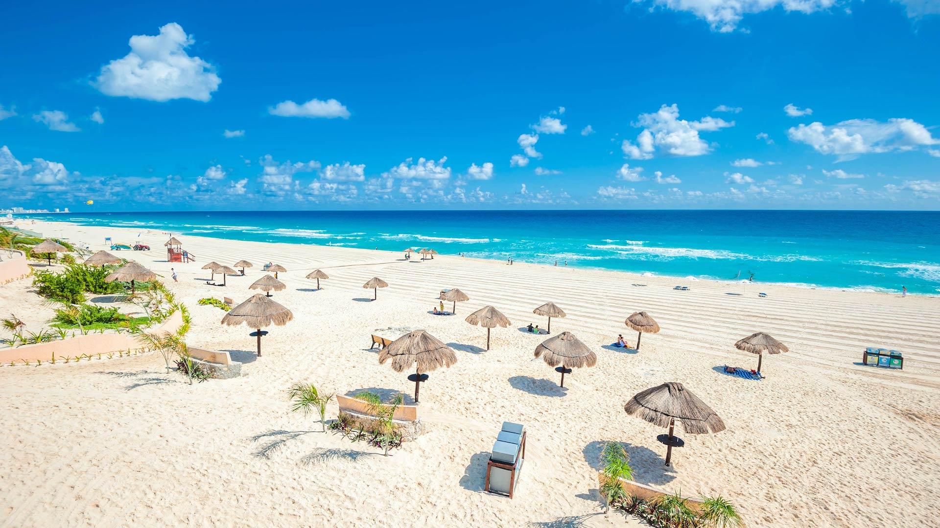 Así es la Ruta de Playas del Caribe de México