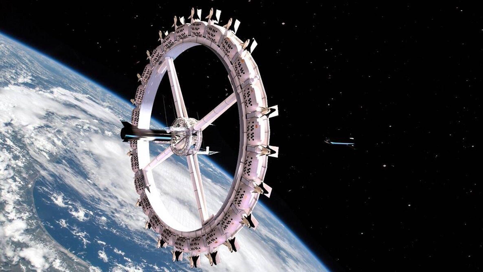 Llega el primer hotel en el espacio: Voyager Station. Imágenes