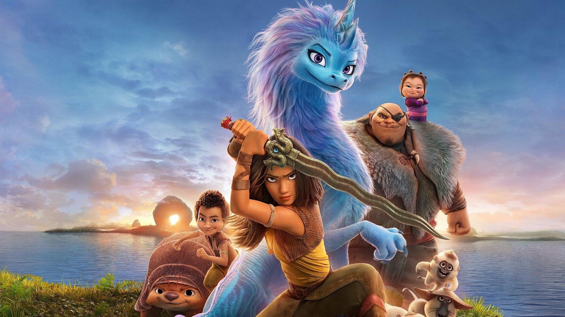 Por qué y dónde ver Raya y el Último Dragón, lo nuevo de Disney