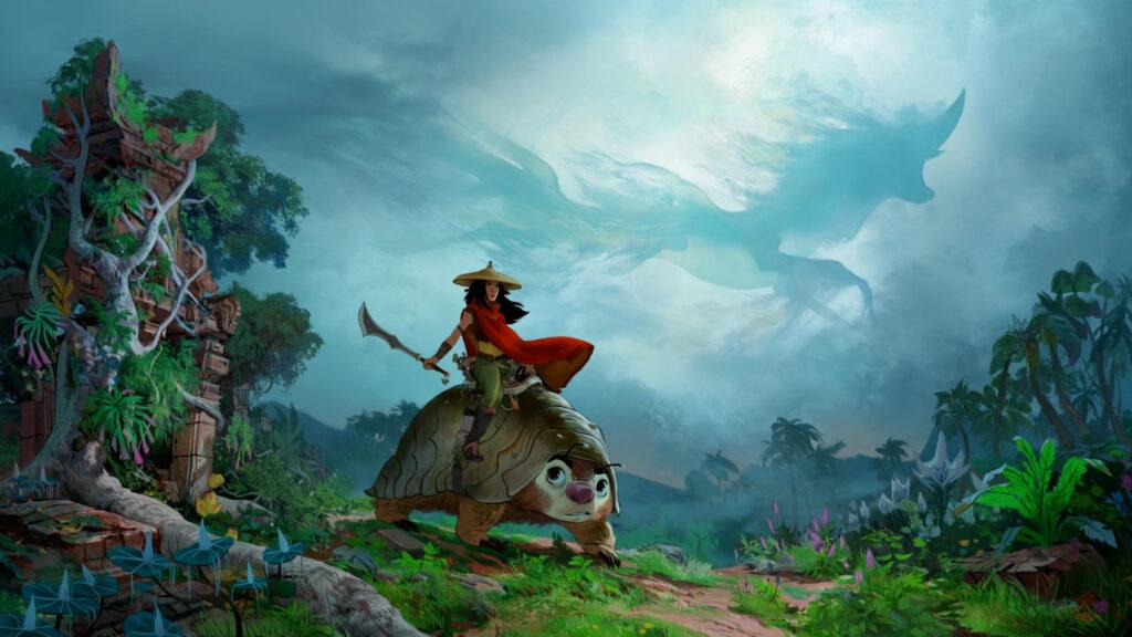 En abril, se puede ver gratis Raya y el Último Dragón en Disney Plus