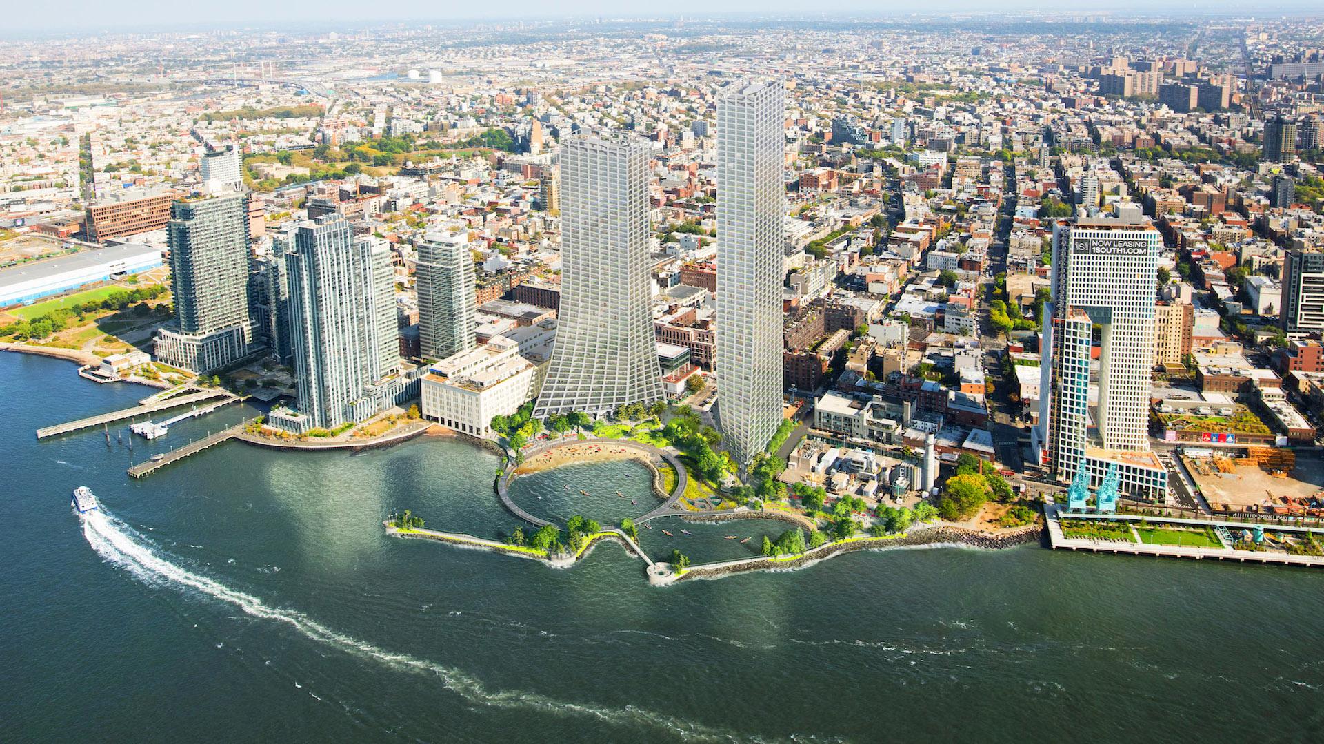 Así será el nuevo paisaje de Nueva York en el barrio de Williamsburg