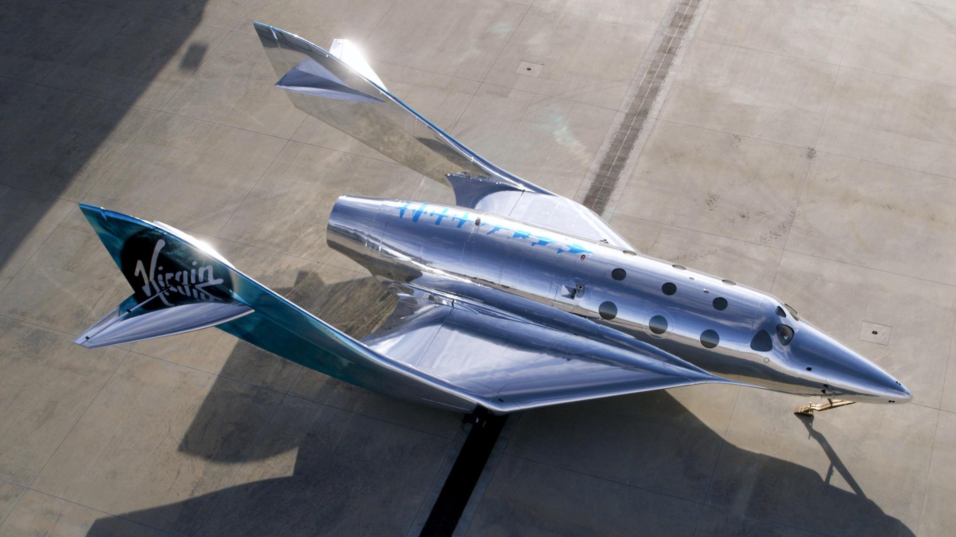 ¿Avión o nave espacial?: así es el nuevo VSS Imagine de Virgin Galactic