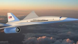 Así será el nuevo Air Force One: el jet presidencial supersónico