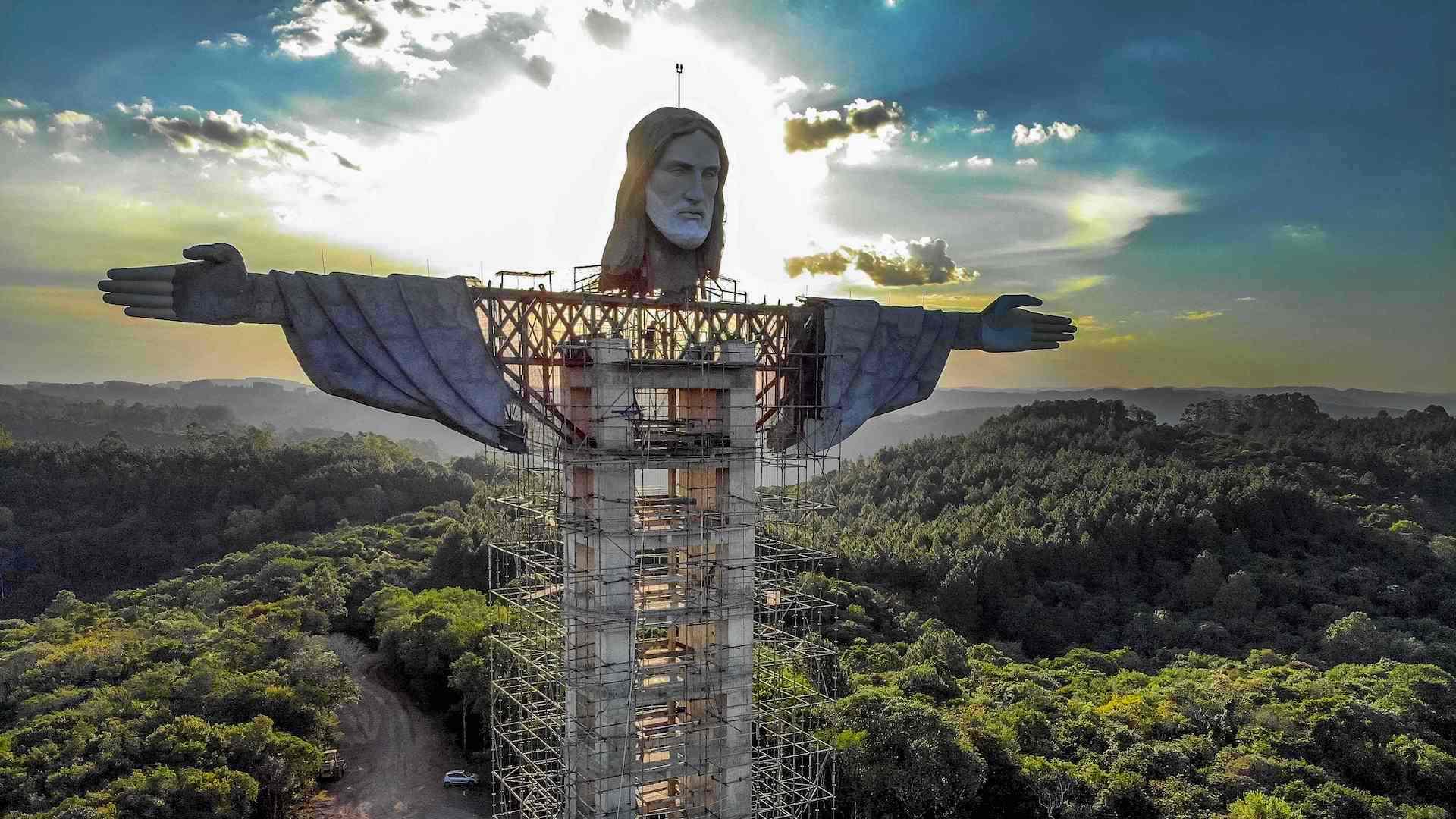Brasil tendrá una nueva estatua de Cristo: El Protector más alta que El Redentor