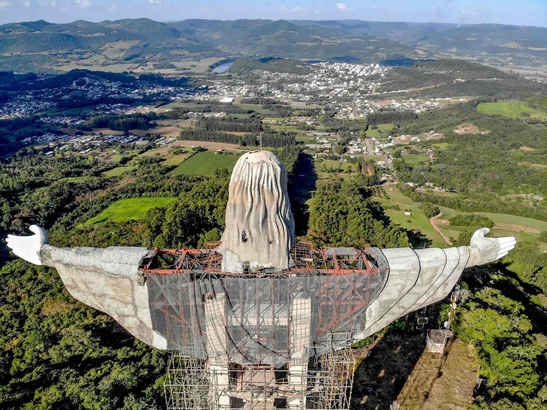 Brasil tendrá una nueva estutua de Cristo: El Protector más alta que El Redentor