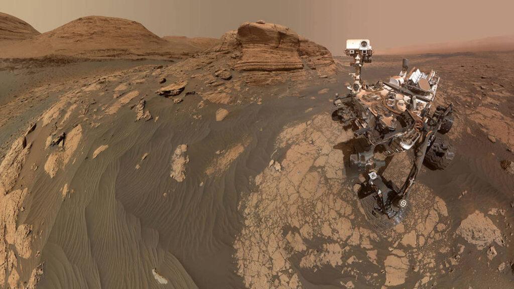 El rover Curiosity de la NASA se tomó una selfie en Marte