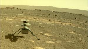 ¿Cuándo vuela el helicóptero Ingenuity de la NASA en Marte?