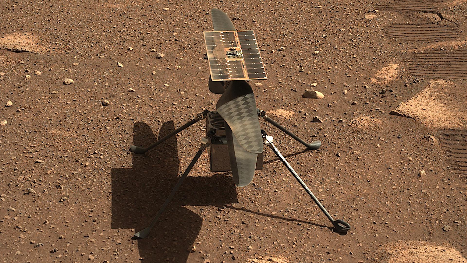 Cómo ver volar el helicóptero Ingenuity en Marte online