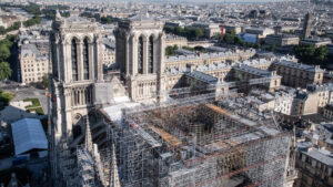Así avanza la reconstrucción de Notre Dame: ¿cuándo inaugura?