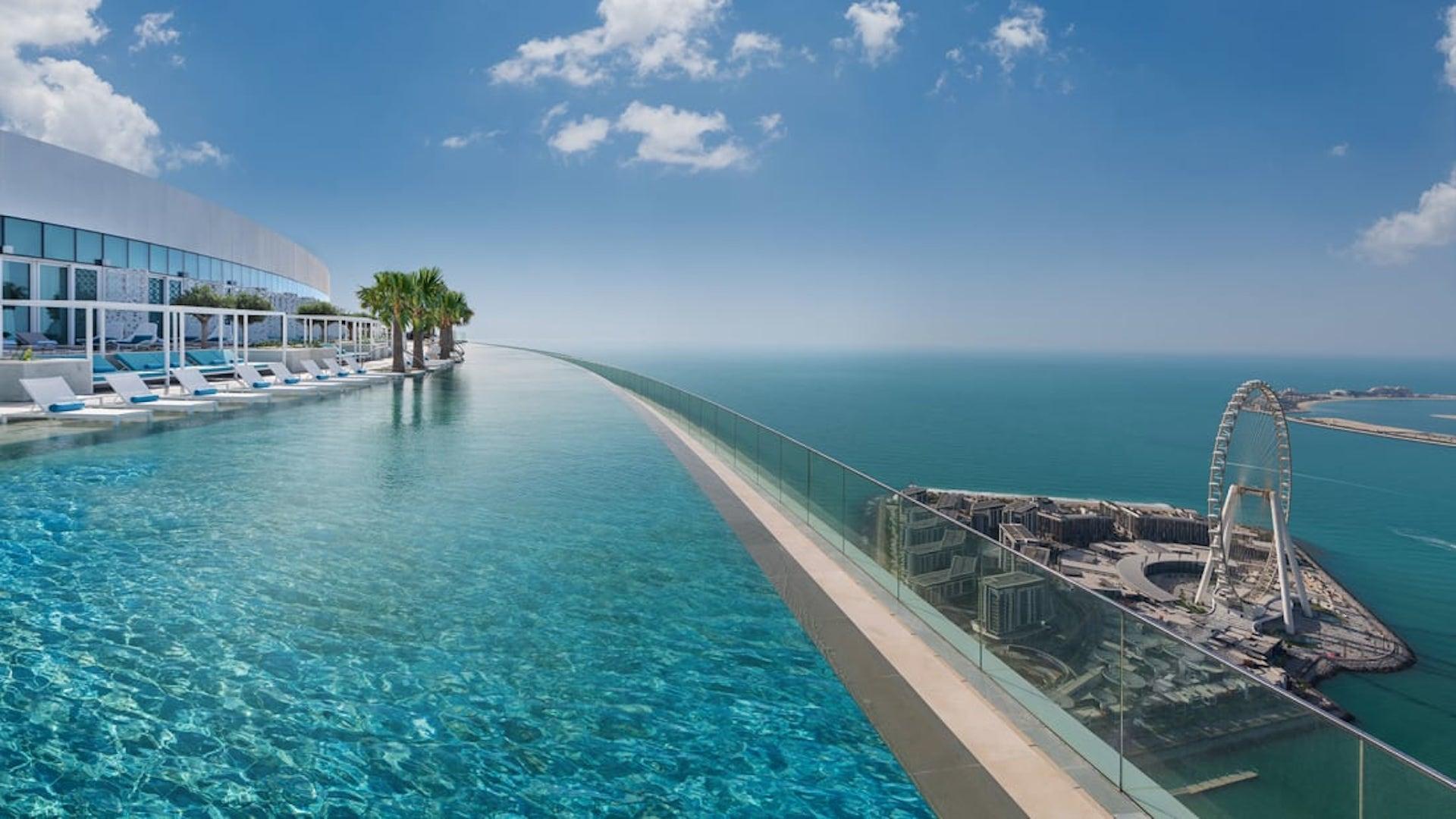 Esta es la piscina infinita más alta del mundo. ¿Dónde?