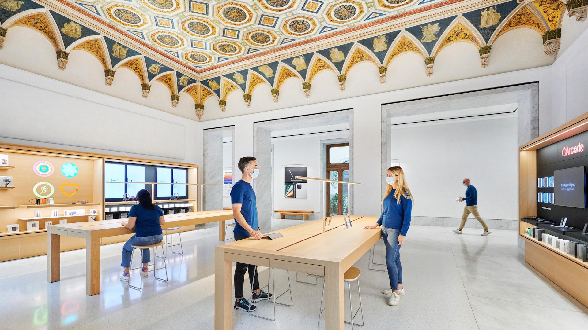 El nuevo store de Apple en Roma es el más grande de Europa