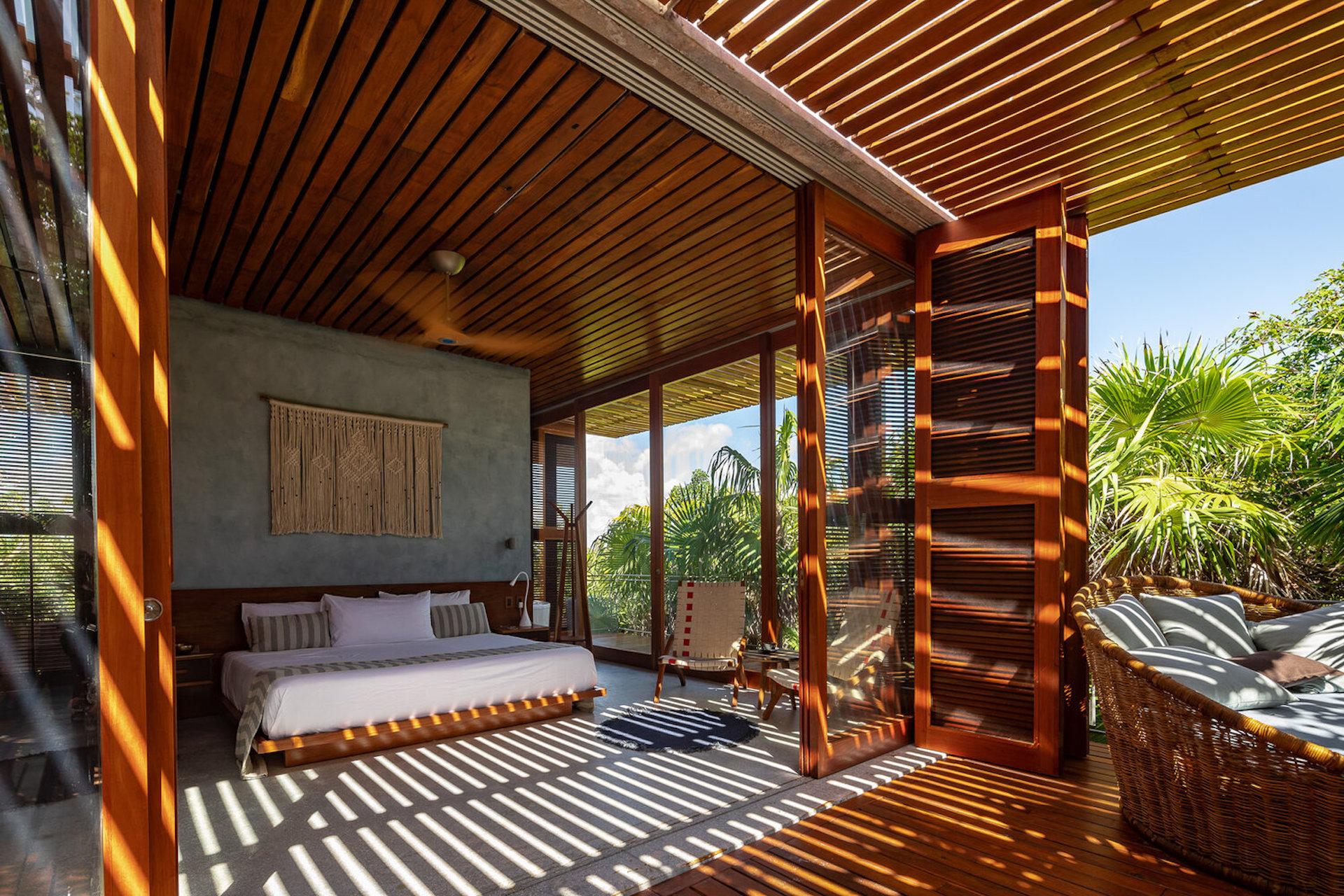 Así es Casa Bautista: un lugar exclusivo para alojarse en Tulum