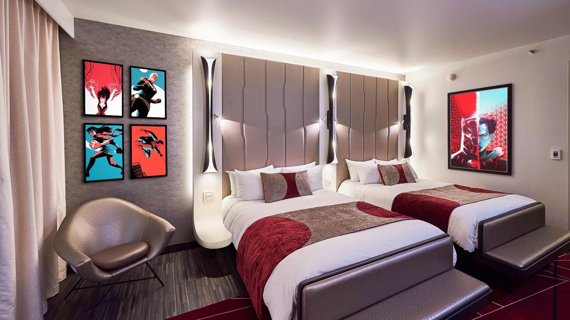 Abre el nuevo hotel de Disney inspirado en Marvel