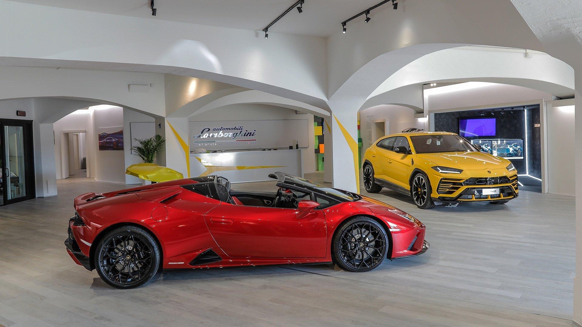Este es el nuevo local de Lamborghini en Nueva York: imágenes