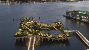 Este es el parque Little Island, la nueva atracción de New York en imágenes