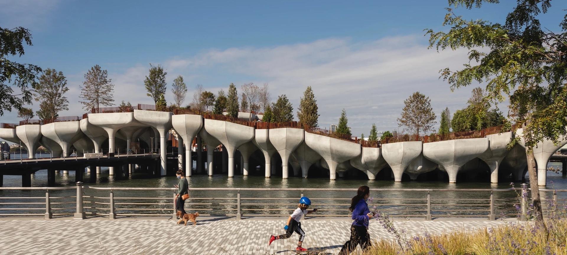 Abrió el nuevo parque en New York: Little Island ¿Cómo reservar tickets?