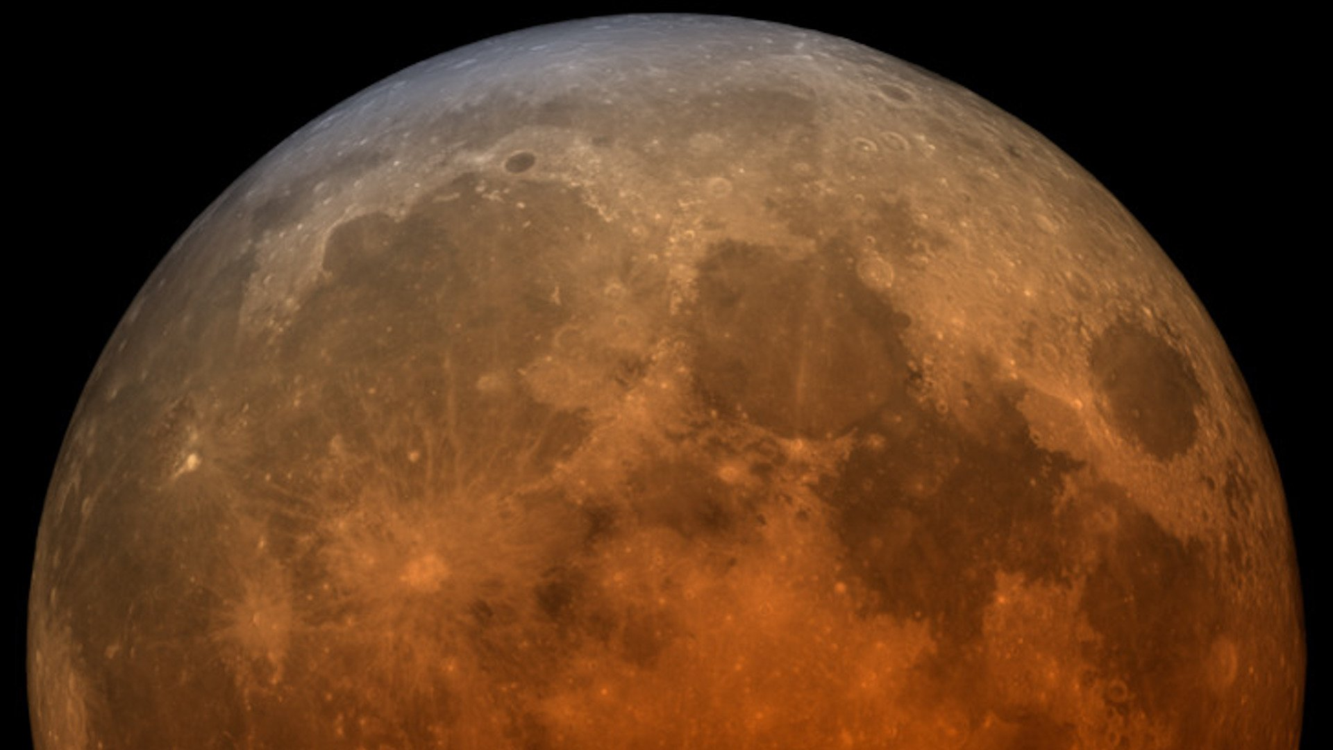 ¿Porqué vemos la Luna roja durante un eclipse lunar?