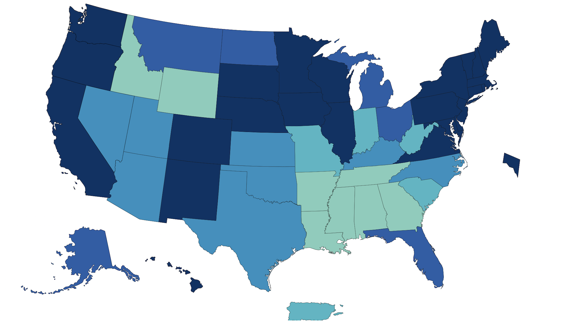 ¿Cuántas personas vacunadas hay en Estados Unidos?