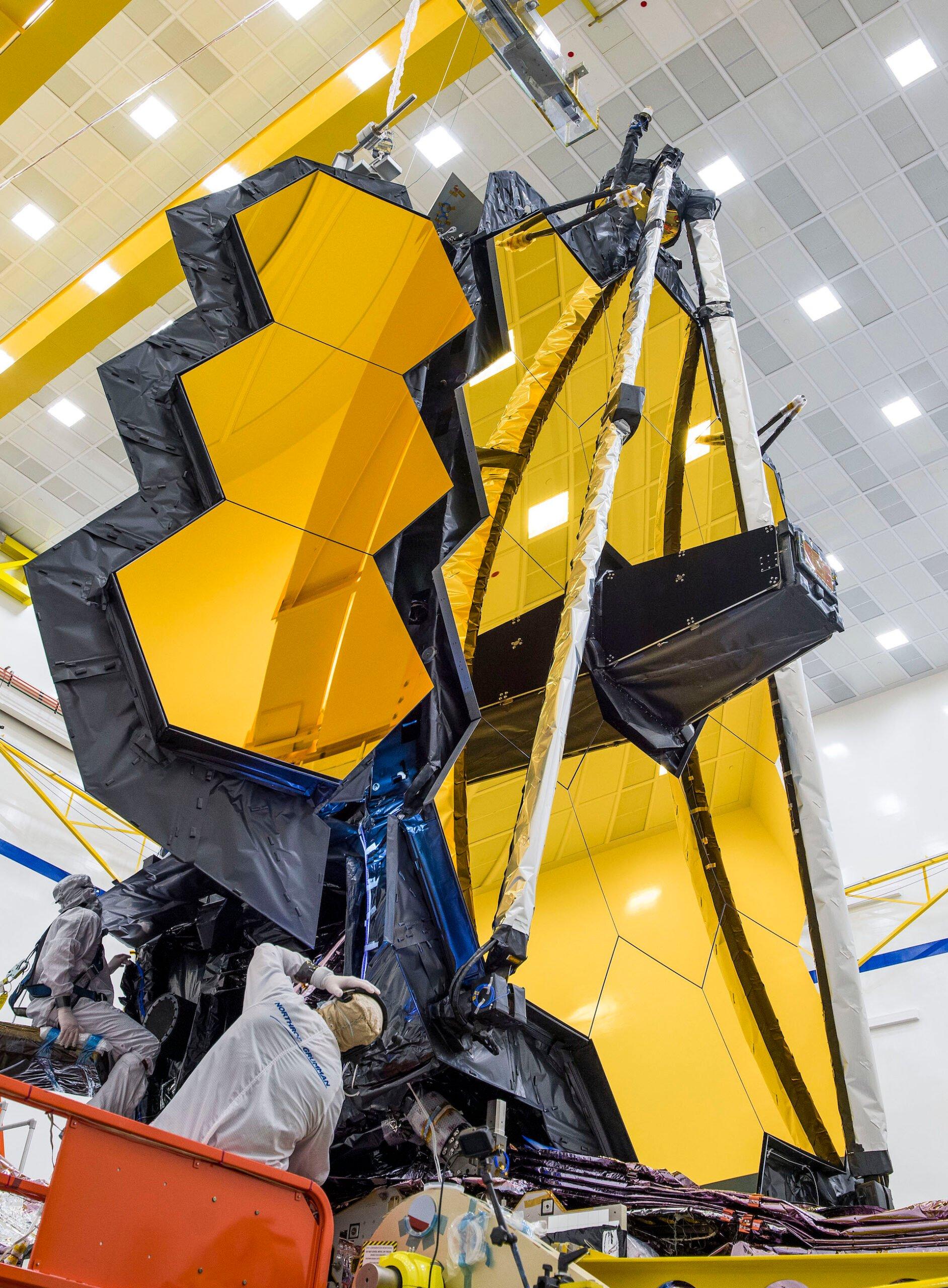 Así es Webb, el nuevo telescopio espacial más grande