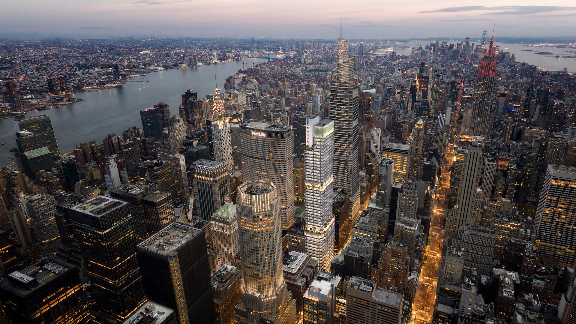 Este es el nuevo rascacielos de Nueva York: 343 Madison Avenue