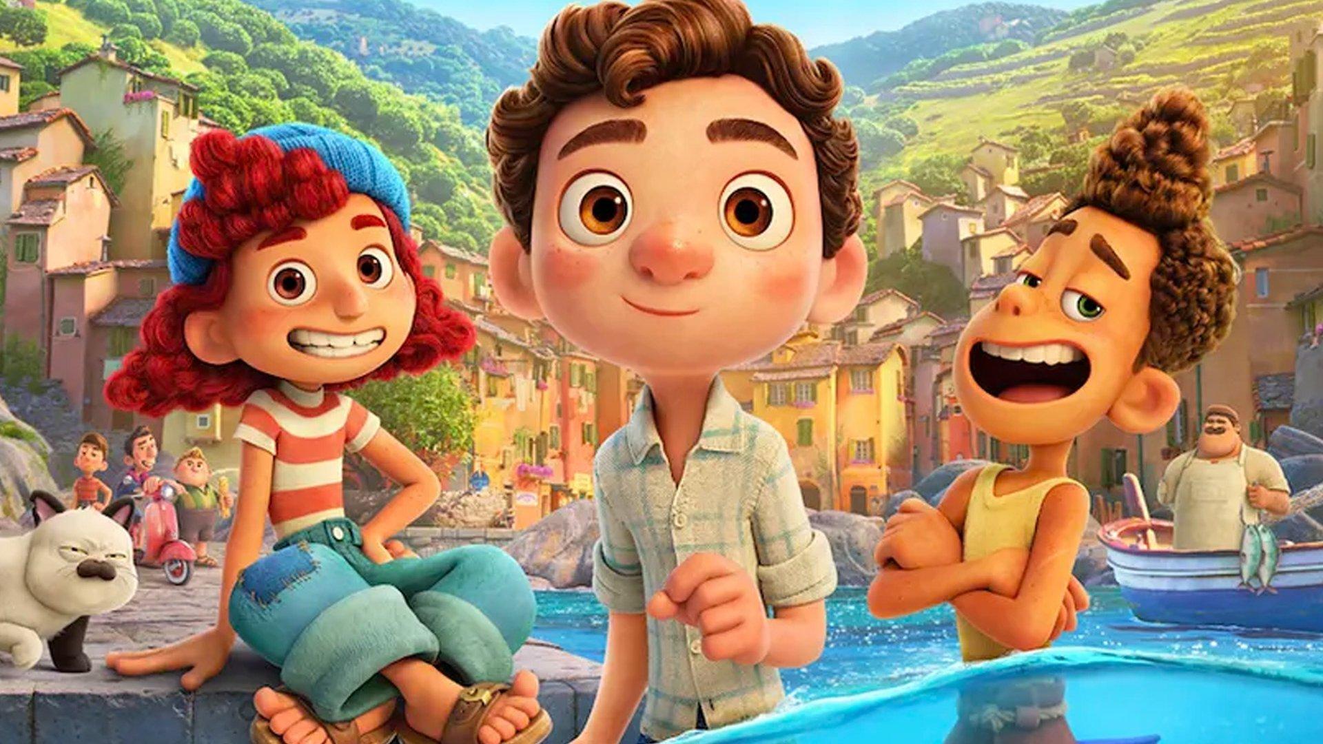La nueva película Luca de Pixar ya se puede ver gratis en Disney Plus
