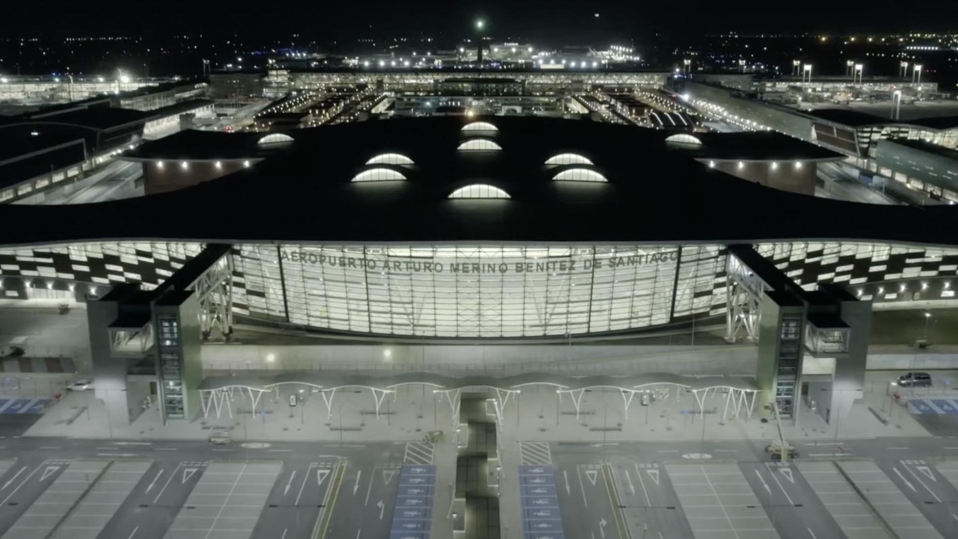 Así es el nuevo aeropuerto de Santiago de Chile: el mejor de Sudamérica
