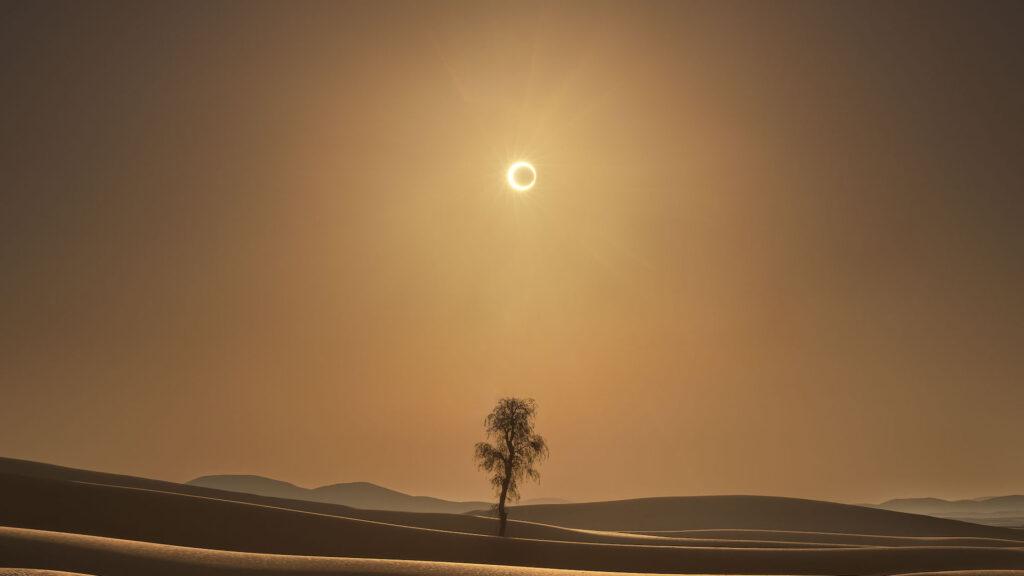 Este jueves 10 de junio, llega el eclipse solar de anillos de fuego