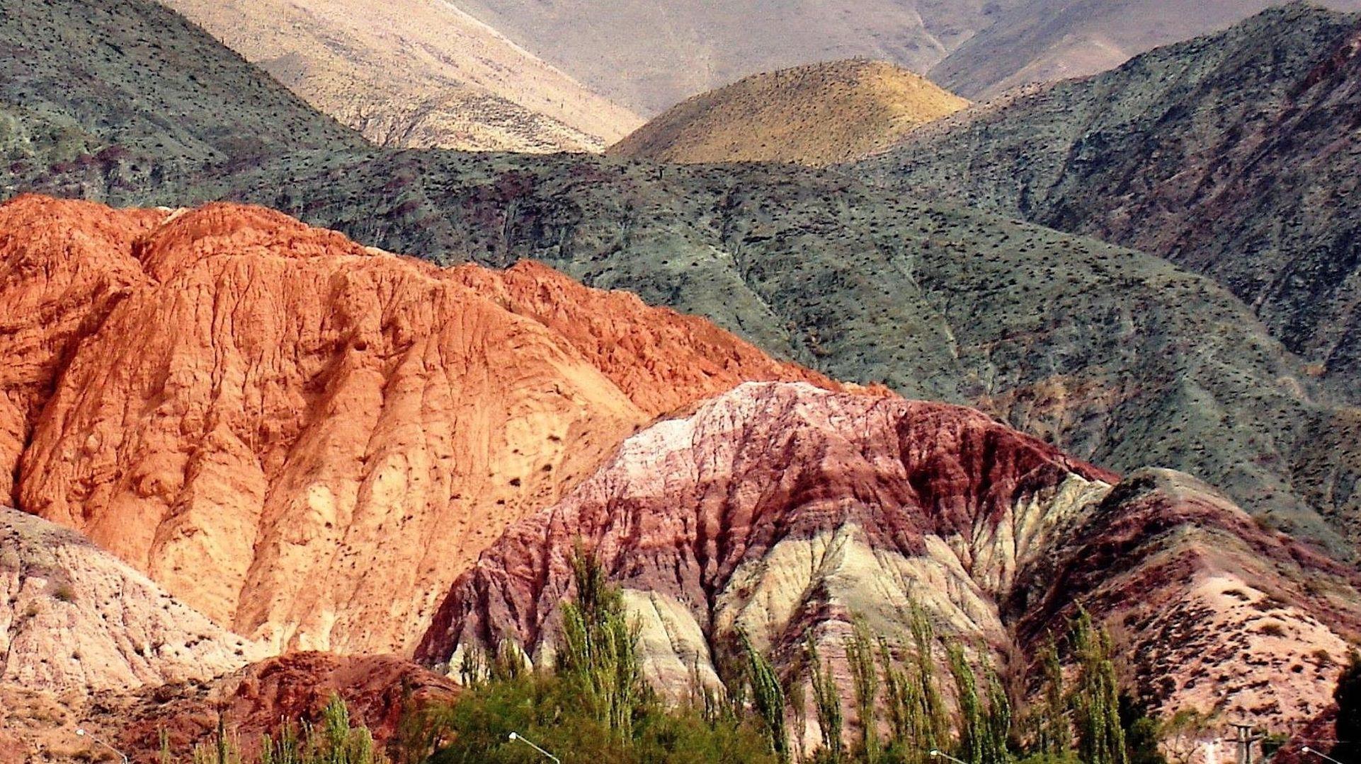 Cómo llegar a Purmamarca, sede del cerro de los Siete Colores